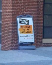 Arts Walk Monroe Street Market