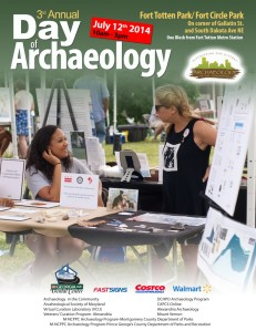 Archaeology Festival in Fort Circle Park July 12, 2014