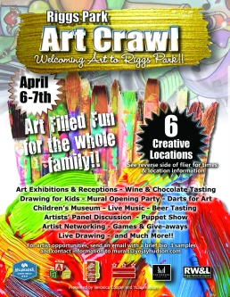 Riggs Park Art Crawl April 6 & 7, 2018