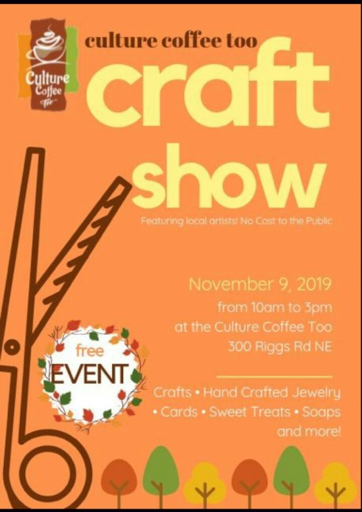 Culture Coffee Too Craft Show