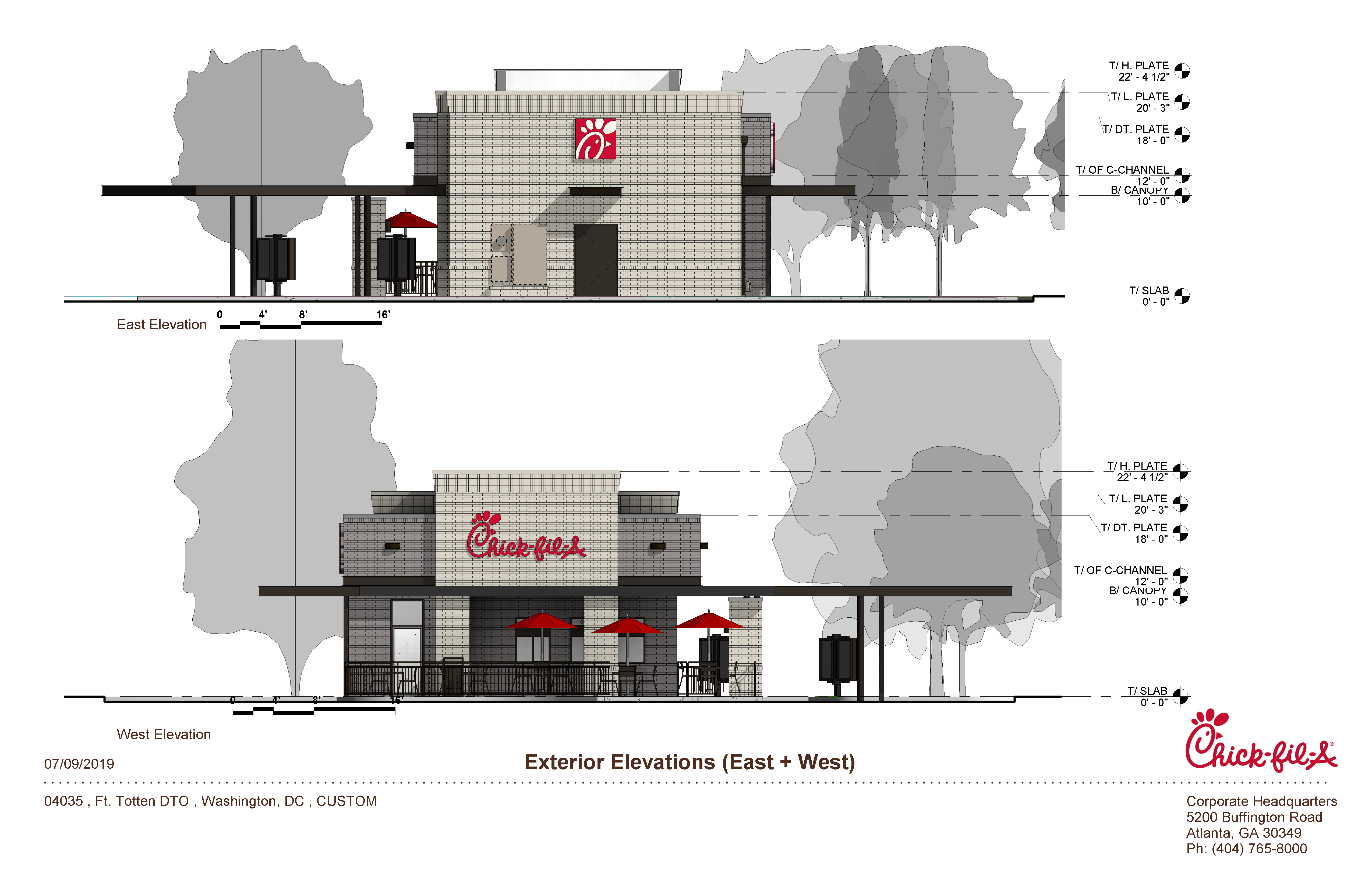 Chick Fil A Renderings Drive Thru Delivery Kitchen Pilots Next Stop Riggs Park